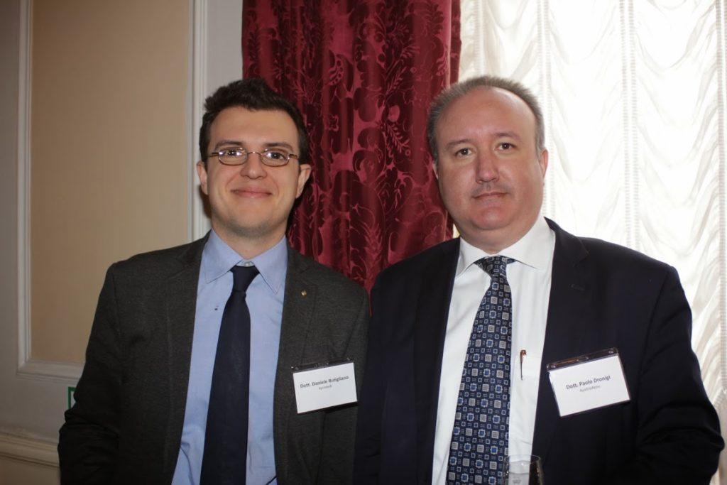 Daniele Rutigliano con Paolo Dronigi a Vienna