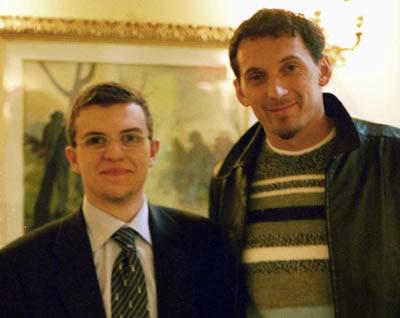 Daniele Rutigliano con Christian Abbiati